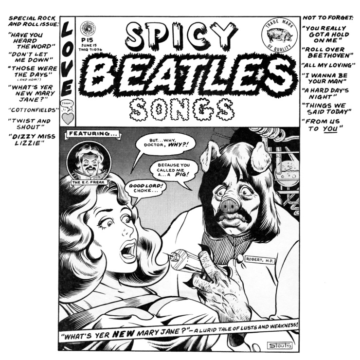 Spicy Beatles Songs – beatlecollecting
